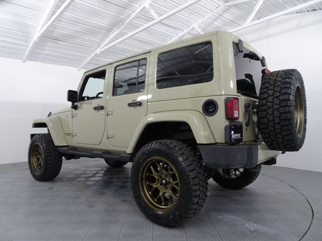2017 Jeep Wrangler Unlimited Sahara Custom Lift, Wheels & Tires in McKinney, Texas 75070