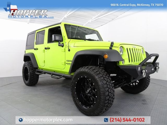 2017 Jeep Wrangler Unlimited Sport LIFT/CUSTOM WHEELS AND TIRES