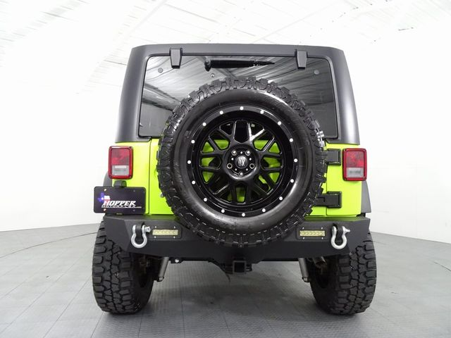 2017 Jeep Wrangler Unlimited Sport LIFT/CUSTOM WHEELS AND TIRES in McKinney, Texas 75070