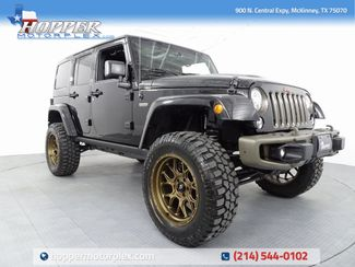 2017 Jeep Wrangler Unlimited Sahara 75th Anniversary Edition LIFT/... in McKinney, Texas 75070