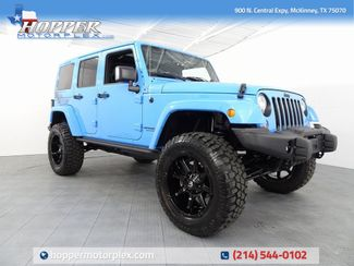 2017 Jeep Wrangler Unlimited Sahara NEW LIFT/CUSTOM WHEELS AND TIRES in McKinney, Texas 75070