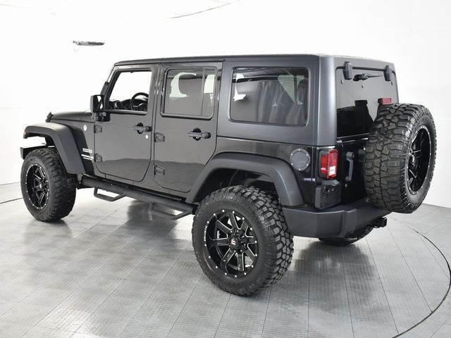 2017 Jeep Wrangler Unlimited Sport NEW LIFT/CUSTOM WHEELS AND TIRES in McKinney, Texas 75070