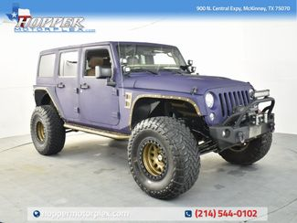 2017 Jeep Wrangler Unlimited Rubicon LIFT KIT/CUSTOM WHEELS AND TIRES in McKinney, Texas 75070