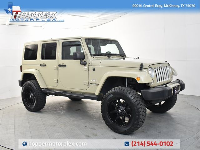 2017 Jeep Wrangler Unlimited Sahara NEW LIFT/CUSTOM WHEELS AND TIRES