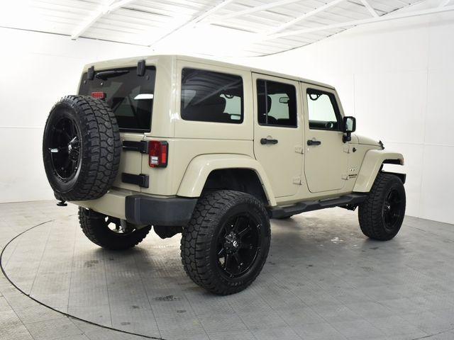 2017 Jeep Wrangler Unlimited Sahara NEW LIFT/CUSTOM WHEELS AND TIRES in McKinney, Texas 75070