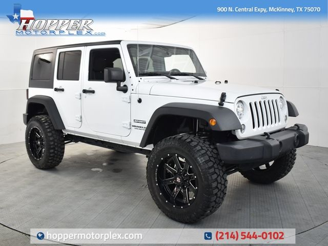 2017 Jeep Wrangler Unlimited Sport Custom Lift, Wheels and Tires