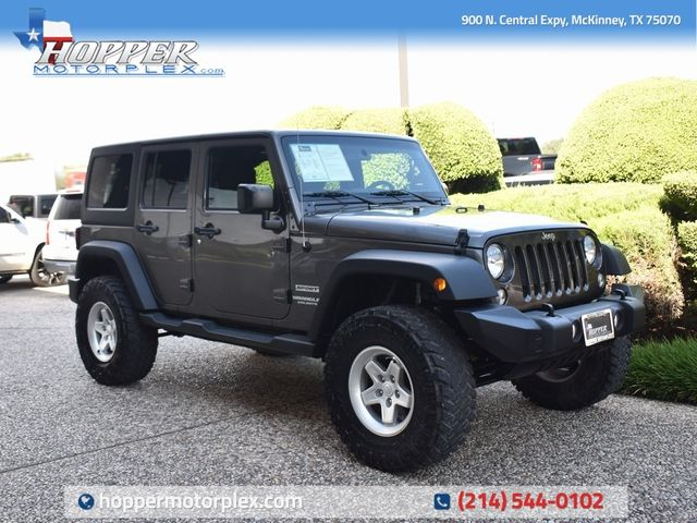 2017 Jeep Wrangler Unlimited Sport New Lift Kit, Wheels and Tires