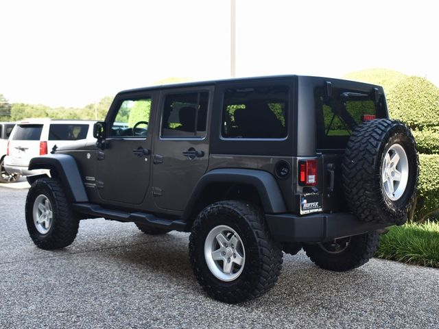 2017 Jeep Wrangler Unlimited Sport New Lift Kit, Wheels and Tires in McKinney, Texas 75070