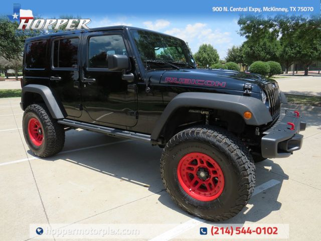 2017 Jeep Wrangler Unlimited Rubicon CUSTOM LIFT/WHEELS AND TIRES