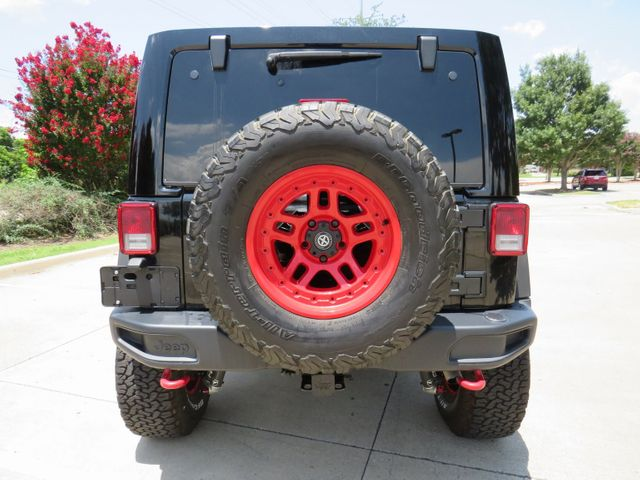 2017 Jeep Wrangler Unlimited Rubicon CUSTOM LIFT/WHEELS AND TIRES in McKinney, Texas 75070