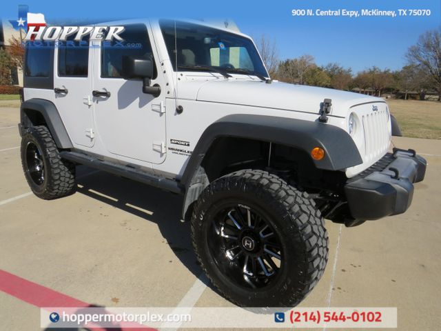 2017 Jeep Wrangler Unlimited Sport New Lift, Wheels and Tires