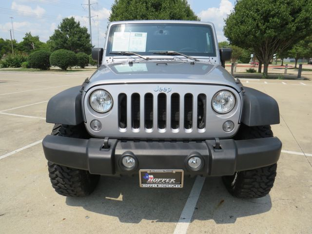 2017 Jeep Wrangler Unlimited Sport Custom lift/wheels and tires in McKinney, Texas 75070
