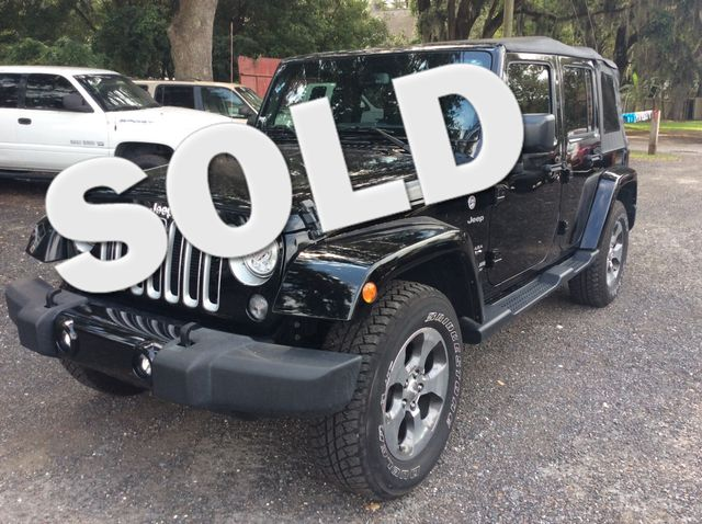 2017 Jeep Wrangler Unlimited Sahara Amelia Island, FL