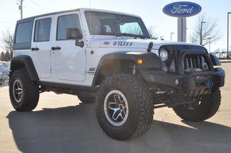 2017 Jeep Wrangler Unlimited Willys Wheeler Bettendorf, Iowa 2