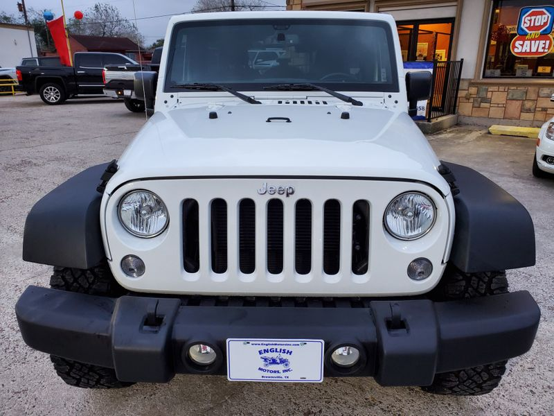 2017 Jeep Wrangler Unlimited Sport  Brownsville TX  English Motors  in Brownsville, TX
