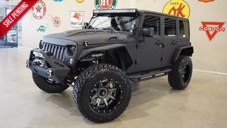 2017 Jeep Wrangler Unlimited Sport 4X4 CUSTOM KEVLAR,LIFTED,NAV,HTD LTH,ALPINE in Carrollton, TX 75006