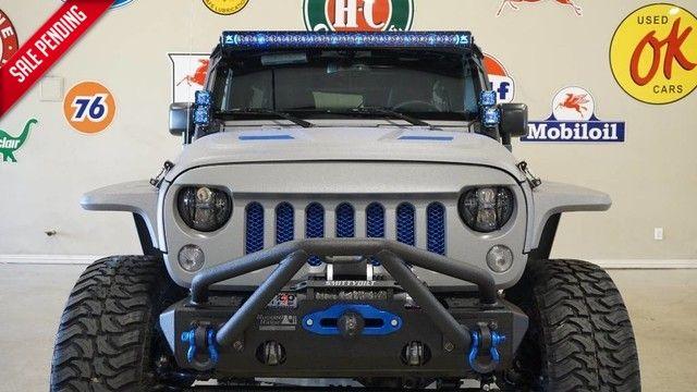 2017 Jeep Wrangler Unlimited Sport 4X4 CUSTOM KEVLAR,LIFTED,NAV,HTD LTH,ALPINE!