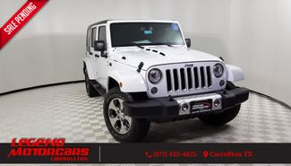 2017 Jeep Wrangler Unlimited Sahara in Carrollton TX, 75006