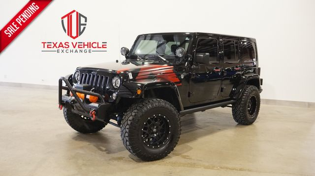 2017 Jeep Wrangler Unlimited Winter 4X4 LIFTED,BUMPERS,NAV,HTD LTH,42K