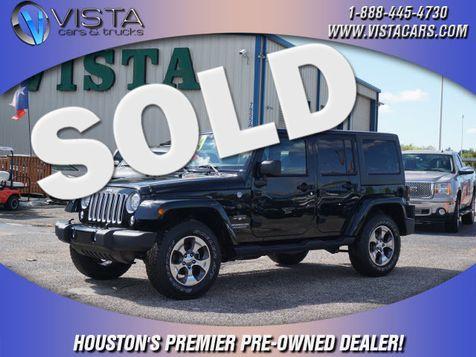2017 Jeep Wrangler Unlimited Sahara in Houston, Texas
