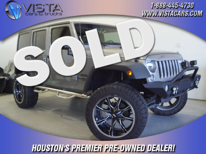 2017 Jeep Wrangler Unlimited Sport  city Texas  Vista Cars and Trucks  in Houston, Texas