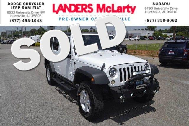 2017 Jeep Wrangler Unlimited Sport | Huntsville, Alabama | Landers Mclarty DCJ & Subaru in  Alabama