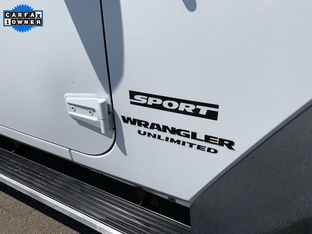 2017 Jeep Wrangler Unlimited Sport RHD Madison, NC 10