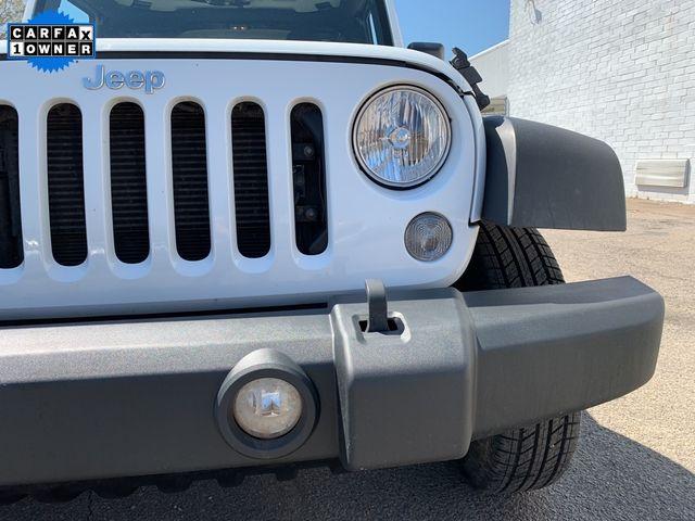 2017 Jeep Wrangler Unlimited Sport RHD Madison, NC 9