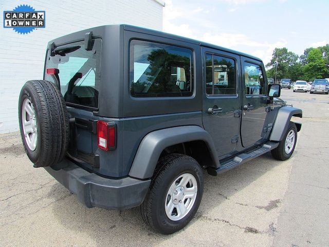 2017 Jeep Wrangler Unlimited Sport RHD Madison, NC 2