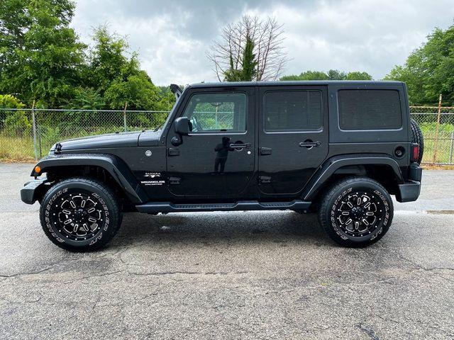 2017 Jeep Wrangler Unlimited Sahara Madison, NC 4