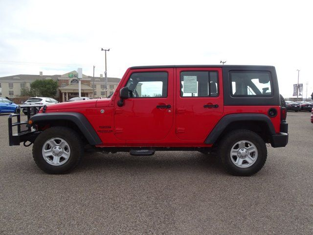 2017 Jeep Wrangler Unlimited Sport in Marble Falls, TX 78654
