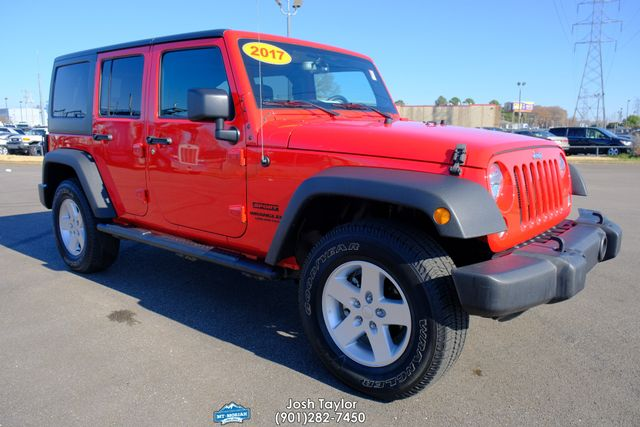 2017 Jeep Wrangler Unlimited Sport in Memphis Tennessee, 38115