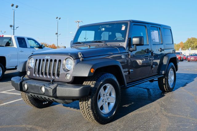 2017 Jeep Wrangler Unlimited Sport in Memphis, Tennessee 38115