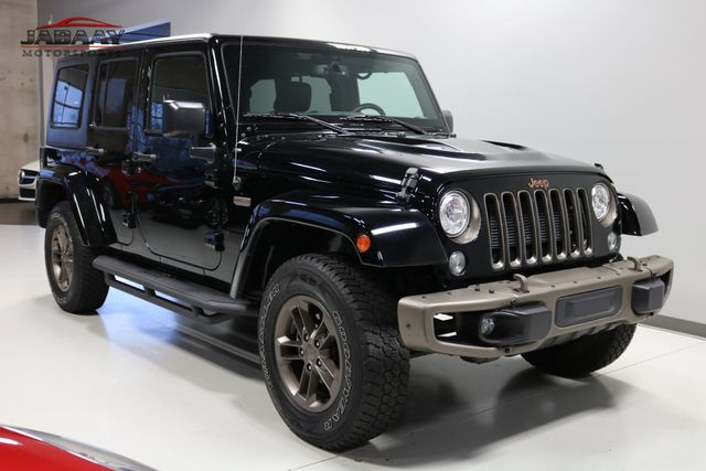 2017 Jeep Wrangler Unlimited 75th Anniversary Merrillville, Indiana 6