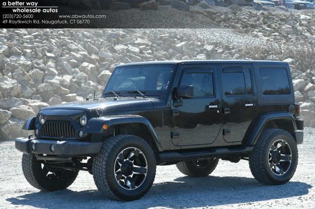 2017 Jeep Wrangler Unlimited Sport 4WD Naugatuck, Connecticut