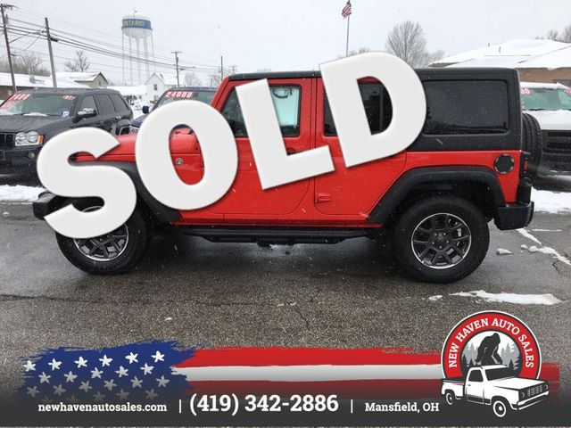2017 Jeep Wrangler Unlimited Sport in Mansfield, OH 44903
