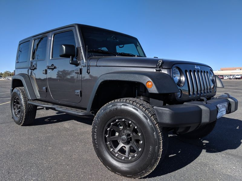 2017 Jeep Wrangler Unlimited Sport  Fultons Used Cars Inc  in , Colorado