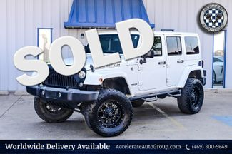 2017 Jeep Wrangler Unlimited 3.6L V6 RUBICON, LEATHER STS,FRDM 3-PIECE HARD TOP in Rowlett