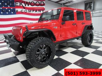 2017 Jeep Wrangler Unlimited Rubicon 4x4 Auto Lifted Red Nav 20s New Tires NICE in Searcy, AR 72143