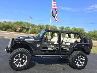 2017 Jeep Wrangler Unlimited CUSTOM LIFTED FAB FOUR OCD LEATHER HARDTOP   Florida  Bayshore Automotive   in , Florida