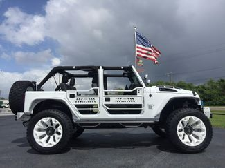 2017 Jeep Wrangler Unlimited CUSTOM LIFTED WHITEOUT LEATHER    Florida  Bayshore Automotive   in , Florida