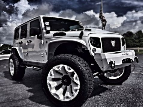 2017 Jeep Wrangler Unlimited CUSTOM LIFTED WHITEOUT LEATHER  in , Florida