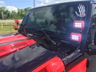 2017 Jeep Wrangler Unlimited BLACK N RED ARMOR 24S HARDTOP LEATHER   Florida  Bayshore Automotive   in , Florida
