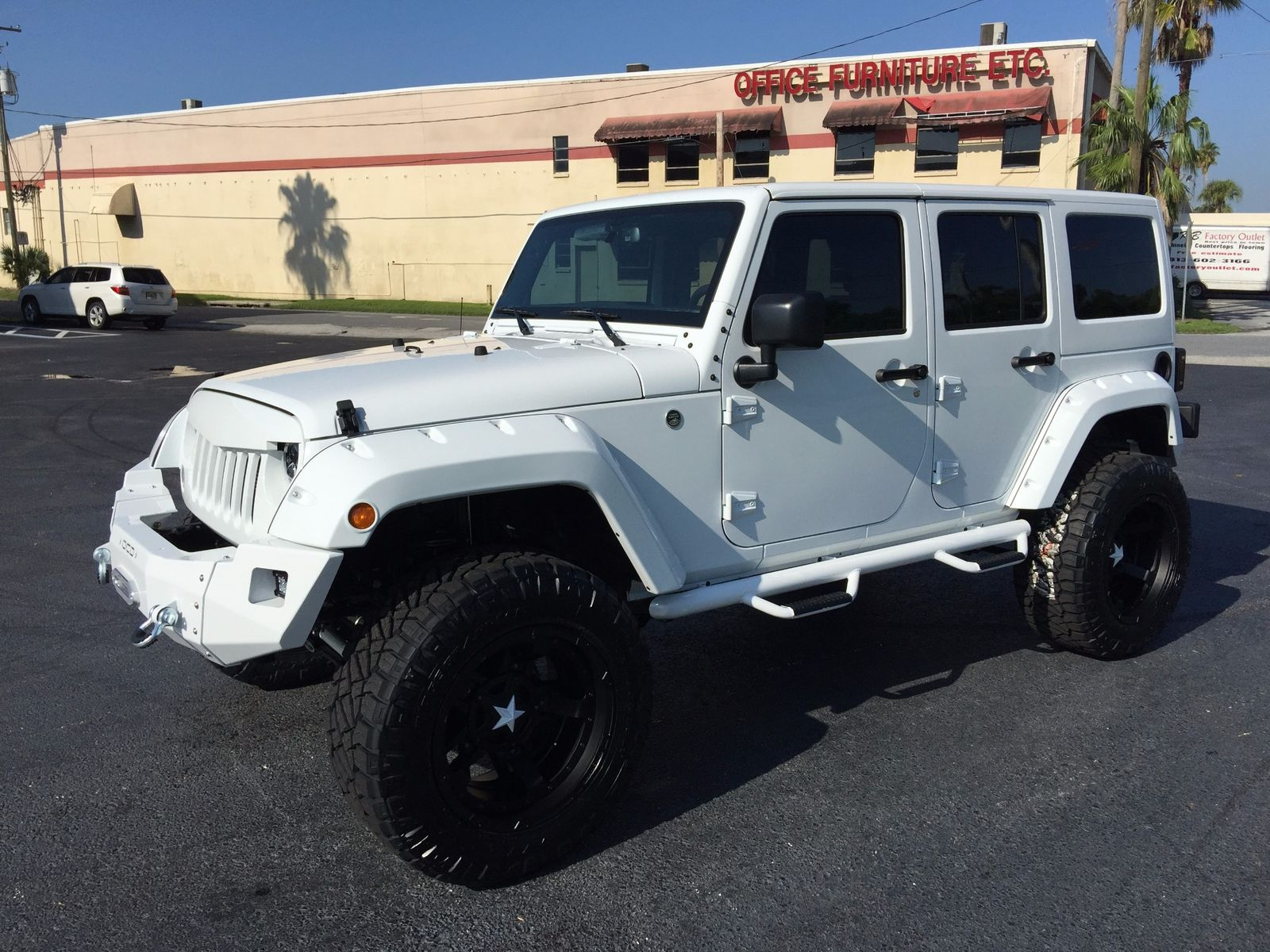 Exceptional ... 2017 Jeep Wrangler Unlimited WHITE OUT 24S HARDTOP LEATHER Florida  Bayshore Automotive In , Florida ...