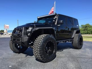 ... 2017 Jeep Wrangler Unlimited RUBICON BLACK OUT CUSTOM FAB FOUR 38S  Florida Bayshore Automotive In ...