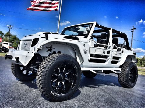 2017 Jeep Wrangler Unlimited WHITE-OUT CUSTOM LIFTED LEATHER HARDTOP in , Florida