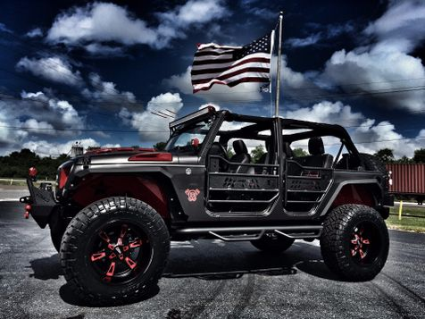 2017 Jeep Wrangler Unlimited BAD BOY CUSTOM LIFTED LEATHER HARDTOP in , Florida
