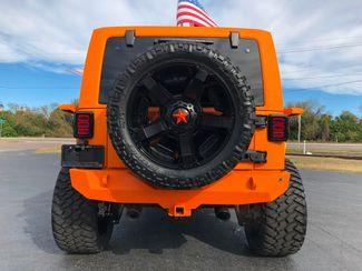 2017 Jeep Wrangler Unlimited ORANGE CRUSH RUBICON GRUMPER 488 YUKON   Florida  Bayshore Automotive   in , Florida