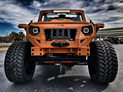 2017 Jeep Wrangler Unlimited ORANGE CRUSH RUBICON GRUMPER 4.88 YUKON in , Florida