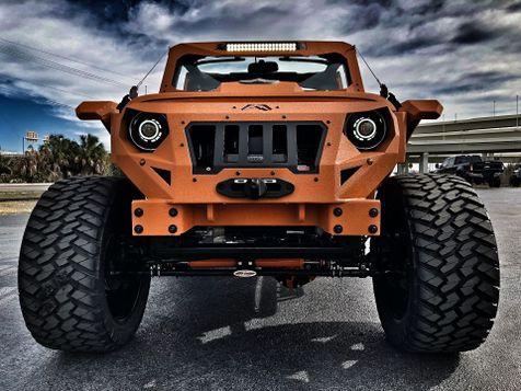 2017 Jeep Wrangler Unlimited ORANGE CRUSH RUBICON GRUMPER 4.88 YUKON in , Florida
